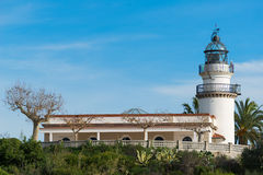 Lighthouse Calella Royalty Free Stock Photography