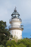 Lighthouse Calella Stock Image