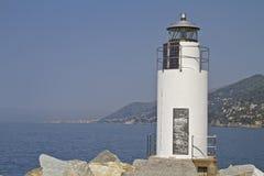 Lighthouse of Camogli Royalty Free Stock Photos