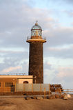Lighthouse on Canary Island Fuerteventura Royalty Free Stock Photo