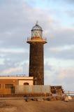 Lighthouse on Canary Island Fuerteventura Royalty Free Stock Photo