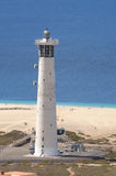 Lighthouse on Canary Island Fuerteventura Stock Images