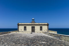 Lighthouse Canary Islands Fuerteventura Los Lobos. Royalty Free Stock Photo