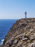 Lighthouse on Cap de Barbaria, Formentera Stock Images