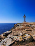 Lighthouse on Cap de Barbaria, Formentera Royalty Free Stock Image
