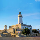 Lighthouse at Cap de Formentor, Majorca Royalty Free Stock Images