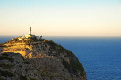 Lighthouse Of Cap  de  Formentor Stock Photos