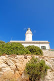 Lighthouse on the Cap de Formentor Royalty Free Stock Photography
