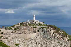 Lighthouse on Cap de Formentor. Stock Photography