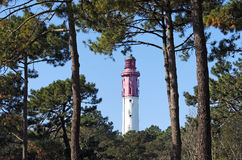 Lighthouse of cap ferret Royalty Free Stock Photo