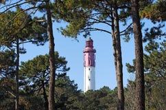 Lighthouse of cap ferret Royalty Free Stock Photo