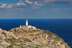 Lighthouse Cap Formentor Royalty Free Stock Image