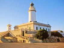Lighthouse Cap Formentor Stock Photography