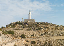 Lighthouse at Cap Formentor Stock Photo