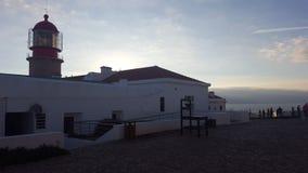 Lighthouse Cap Saint Vincent stock photography