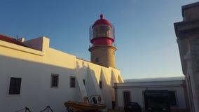 Lighthouse Cap Saint Vincent Stock Images
