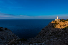 Lighthouse in Capdepera Mallorca Royalty Free Stock Image