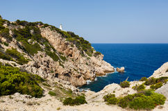 Lighthouse of Capdepera, Mallorca Stock Images