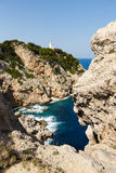 Lighthouse of Capdepera, Mallorca Royalty Free Stock Images
