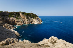 Lighthouse of Capdepera, Mallorca Stock Photography