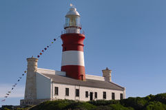 Lighthouse (Cape Agulhas) Royalty Free Stock Photography