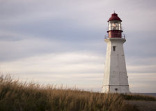 Lighthouse Cape Breton Nova Scotia Royalty Free Stock Images