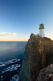 Lighthouse on cape Brinera-7 Stock Photography