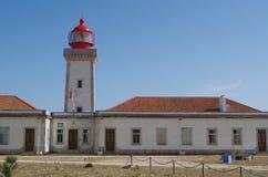 Lighthouse of Cape Carvoeiro in Lagoa stock photo