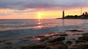 Crimea. Sevastopol. Chersonese lighthouse stock video