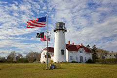 Lighthouse Cape Cod. Chatham Lighthouse at Cape Cod, Massachusetts, USA Stock Images