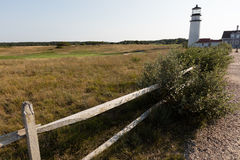 Lighthouse in Cape cod Royalty Free Stock Photography