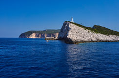 Lighthouse at Cape Ducato Royalty Free Stock Photos