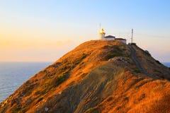 The lighthouse at Cape Emine, Bulgaria Royalty Free Stock Photos