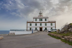 Lighthouse of Cape Finisterre Royalty Free Stock Image