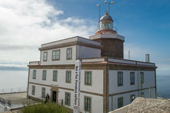 Lighthouse of Cape Finisterre Stock Photos