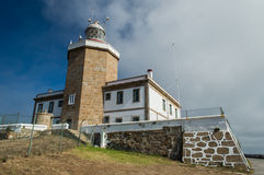 Lighthouse of Cape Finisterre Stock Photography