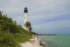 Lighthouse Cape Florida Royalty Free Stock Images