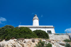 Lighthouse at cape Formentor Royalty Free Stock Photo
