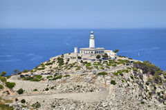 Lighthouse at Cape Formentor, Majorca Royalty Free Stock Photos
