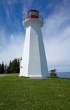 Lighthouse. Cape George Lighthouse is situated in Antigonish County, Nova Scotia at Cape George Point which overlooks the waters of St. George's Bay Royalty Free Stock Photos