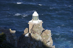 The lighthouse on Cape of Good Hope Royalty Free Stock Photos