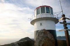Lighthouse - Cape of Good Hope Royalty Free Stock Photography