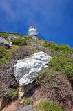 The lighthouse on Cape of Good Hope Stock Image