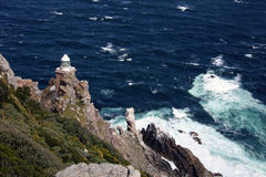 Lighthouse at the Cape of Good Hope. Stock Photography