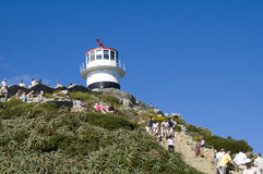 Lighthouse Cape of Good Hope South Africa royalty free stock photo