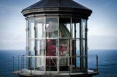 Lighthouse at Cape Meares stock image