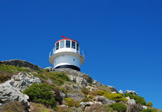 Lighthouse on Cape Point Stock Photo