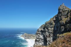 Lighthouse Cape point Stock Image