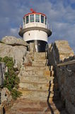 Lighthouse at Cape point, south africa Royalty Free Stock Photography