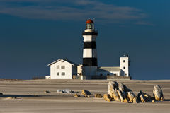 Lighthouse Cape Recife/South Africa Royalty Free Stock Photos